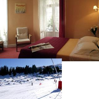 Chambres d 39 h tel grand hotel le mont dore 2 le mont for Hotel mont dore avec piscine interieure